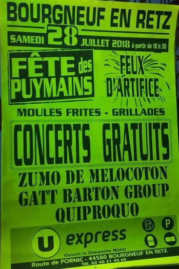 affiche Puymains