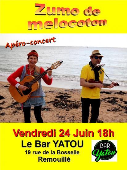 Affiche bar yatou
