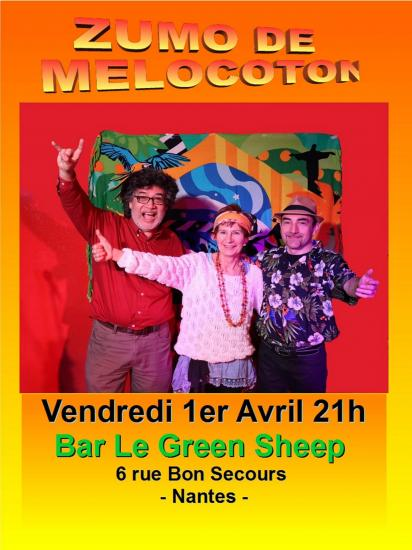 Affiche les 3 green sheep